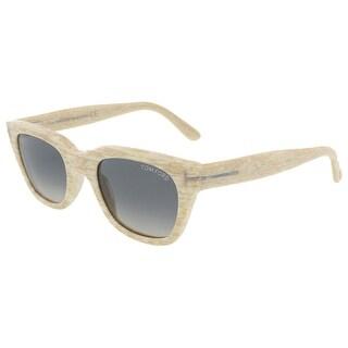 Tom Ford FT0237/S 60B Snowdon Beige Wayfarer Sunglasses