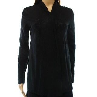 INC NEW Black Women's Size Medium M Open Front Cardigan Sweater