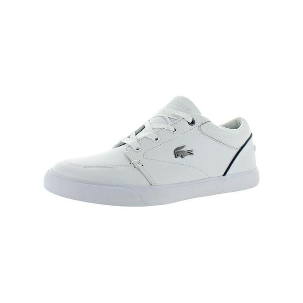 6dedb7cf4eb7 Shop Lacoste Mens Bayliss 318 2 Casual Shoes Leather Ortholite ...