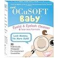OCuSOFT Baby Eyelid & Eyelash Cleanser Towelettes 20 ea - Thumbnail 0