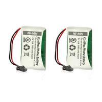 Replacement Uniden BT1008 Battery for D1660-2T / D1788-4 / DECT2060 Phone Models (2 Pack)