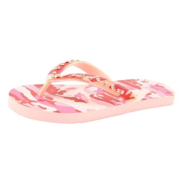 Blazin Roxx Western Shoes Womens Lauren Flip Flop Camo Pink
