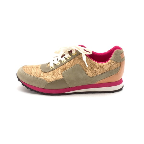Cole Haan Womens CH1852 Suede Low Top Lace Up Fashion Sneakers - 6