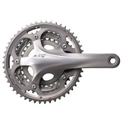 Shimano 105 Triple Road Bicycle Crank Set FC-5703 Shimano Cycling