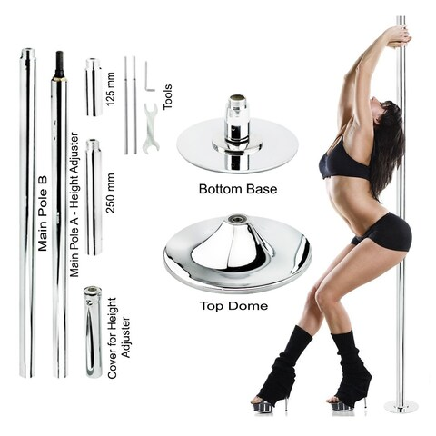 New Pro Portable Stripper Exercise Professional Dancing Spinning Pole