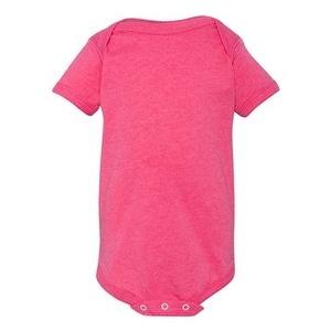 Infant Vintage Fine Jersey Bodysuit - Vintage Hot Pink - 6M