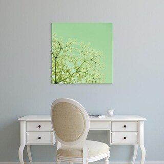 Easy Art Prints Keri Bevan's 'Cuckoo Flowers' Premium Canvas Art