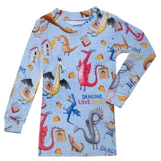 Children's Dragons Love Tacos Kids Pajamas Set