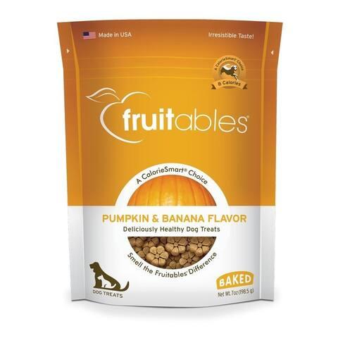 Fruitables Pumpkin & Banana 7 oz Dog Treats