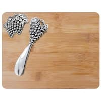 Kitchen Worthy 290-CBORD Cheese Board And Spreader Set