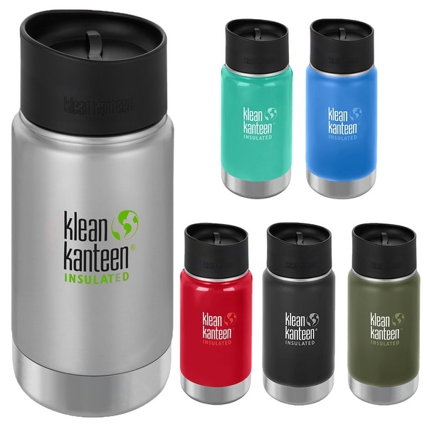 Shop Klean Kanteen 12 Oz Wide Insulated Bottle With Cafe