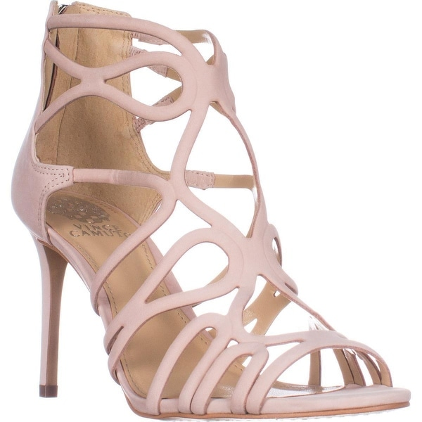 Vince Camuto Lorrana Peep Toe Heeled Sandals, Blush