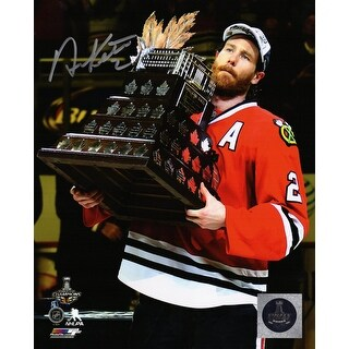 Duncan Keith Chicago Blackhawks 2015 Stanley Cup Conn Smythe Trophy 8x10 Photo