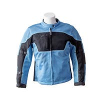 RoadDog Hurricane Mesh Jacket Motorcycle Riding Jacket Powder Blue Women's
