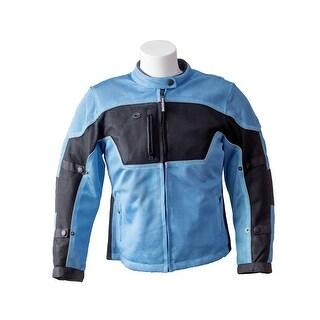 RoadDog Hurricane Mesh Jacket Motorcycle Riding Jacket Powder Blue Women's