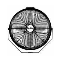 "Air King 9312 12"" 1360 CFM 3-Speed Industrial Grade Multi Mount Fan with Pivoting Head - na"