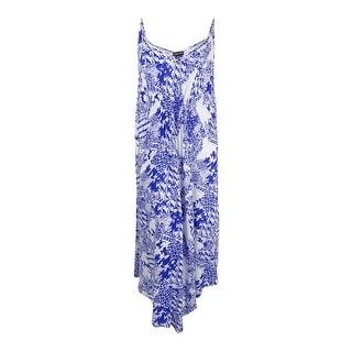 City Chic Women's Plus Size Printed Maxi Dress (L, Deep Sea) - l