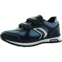 Geox Jr Pavel Boys Snakers - avio/navy