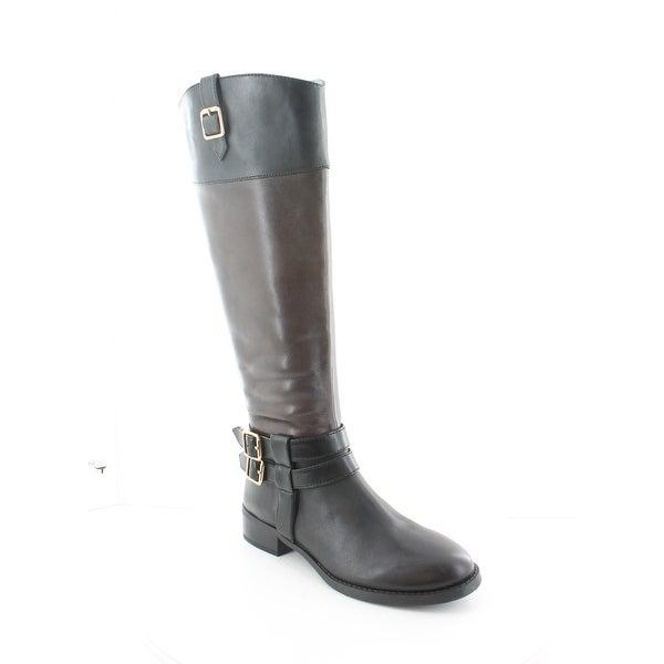 INC Fahnee-WC Women's Boots Black/Cognac