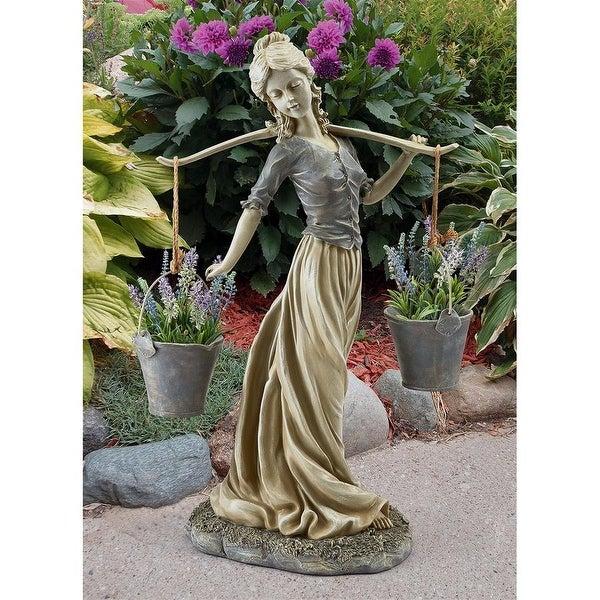 Design Toscano Magdalene the Danish Milkmaid Garden Woman Statue