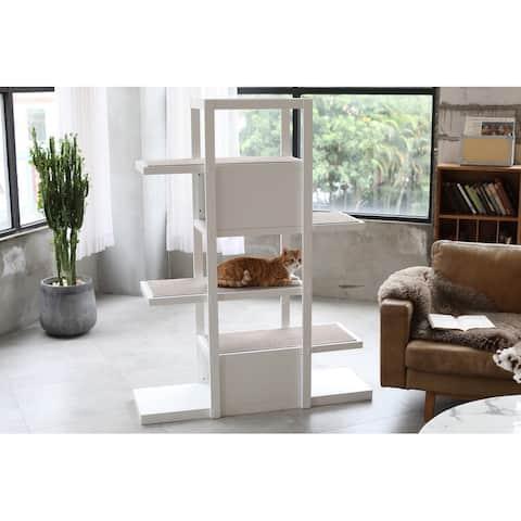 Bookshelf Cat Tree