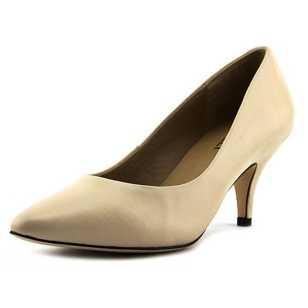 Vaneli Hadera Women Pointed Toe Leather Heels