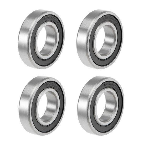 6901-2RS Deep Groove Ball Bearings Z2 12x24x6mm Double Sealed Carbon Steel 4pcs