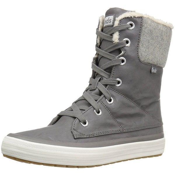 Keds Womens Juliet Wool Closed Toe Ankle Cold Weather Boots