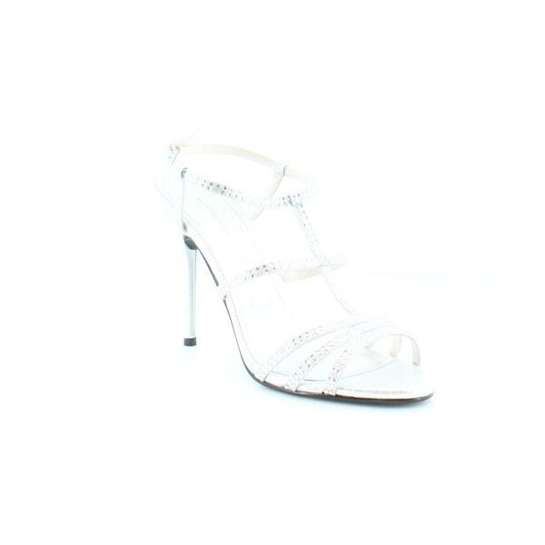 Caparros Groovy Women's Heels Silver Metallic - 9