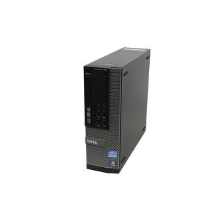 """Dell OptiPlex 990 SFF Standard Refurb PC - Intel i5 2400 2nd Gen 3.1 GHz 8GB DIMM DDR3 SATA 3.5"""" 100GB SSD DVD-ROM Win 10 Home"""