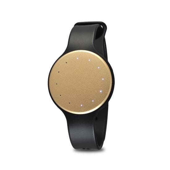 Fitmotion Smart Activity Tracker (Sleep Monitor + Step Counter + Distance Traveled), Gold
