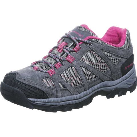 Bearpaw Hiking Shoes Womens Olympus Mesh Lace Up TPR Sole