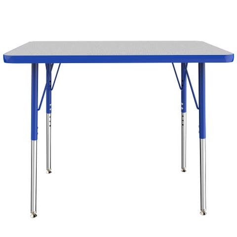 """24"""" x 36"""" Rectangle Activity Table with Adjustable Swivel Glide Legs"""