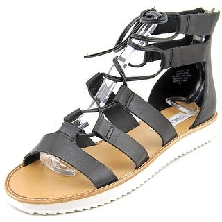 Steve Madden Marvell Women Open Toe Leather Gladiator Sandal