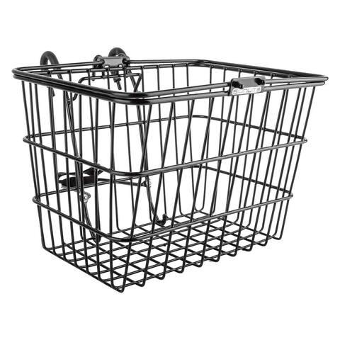 SUNLITE Basket Front Wire L/O Std Black W/Bracket - TL-332+TL-332-1/BLK