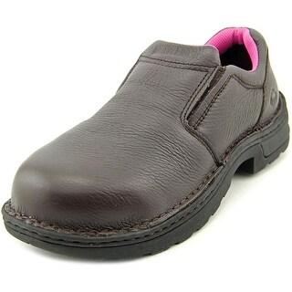 Wolverine Bailey Women W Steel Toe Leather Brown Work Shoe