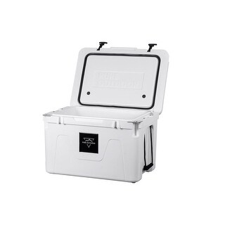 Monoprice Pure Outdoor Emperor 80 Liter Cooler White