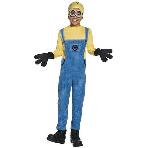 Despicable Me 3 Child's Jerry Minion Costume - Yellow