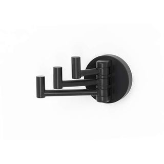 Alno A8385 Contemporary I Triple Robe Hook with Pivoting Hook Design