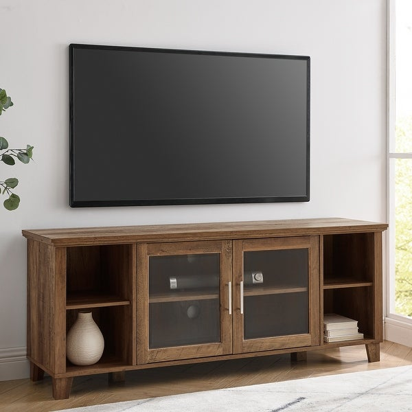 Middlebrook Designs 58-inch Glass Door TV Stand Console. Opens flyout.