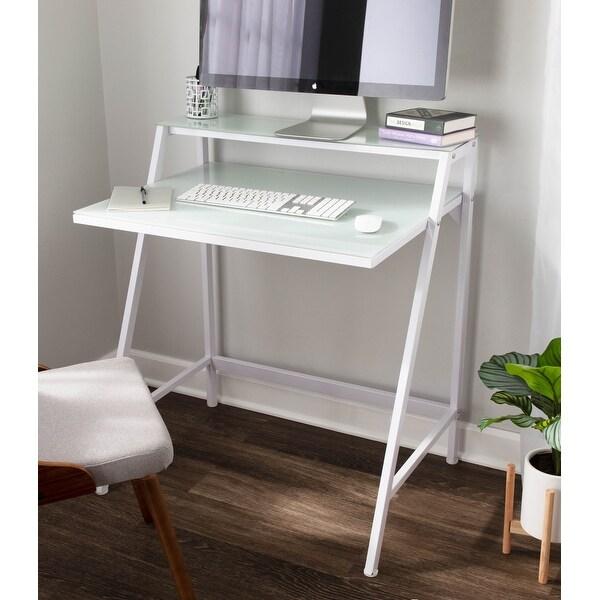 2-Tier Modern Computer Desk / Workstation. Opens flyout.