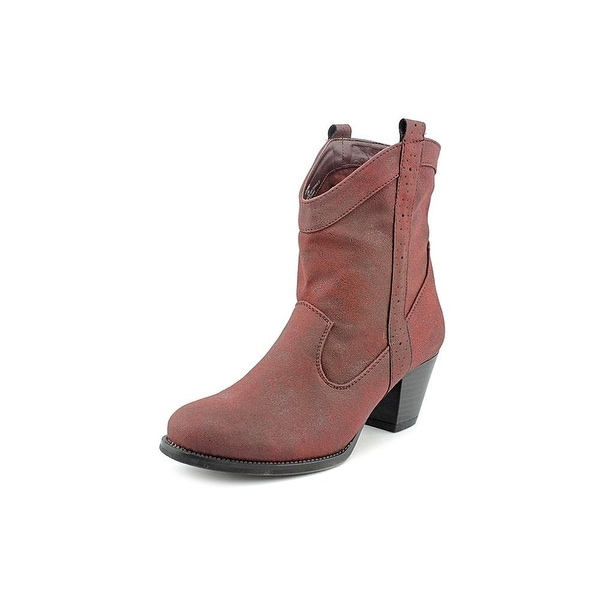 Style & Co. Womens Dylan2 Almond Toe Ankle Fashion Boots