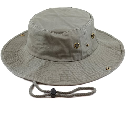 45d7d0d7b3b541 Men Women Boonie hat Cotton Wide Brim Foldable Double-Sided Outdoor
