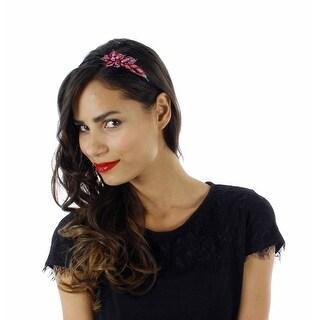 Creole Queen Rhinestone Floral Headband