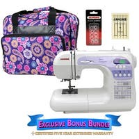 Janome DC 3050 Computerized Sewing Machine with Exclusive Bonus Bundle