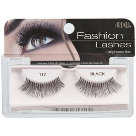Ardell Fashion Lashes, Black [117] 1 pair