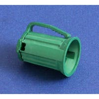 Club Pack of 100 C7 Green Christmas Light Bulb Sockets - For 16 Gauge Wire