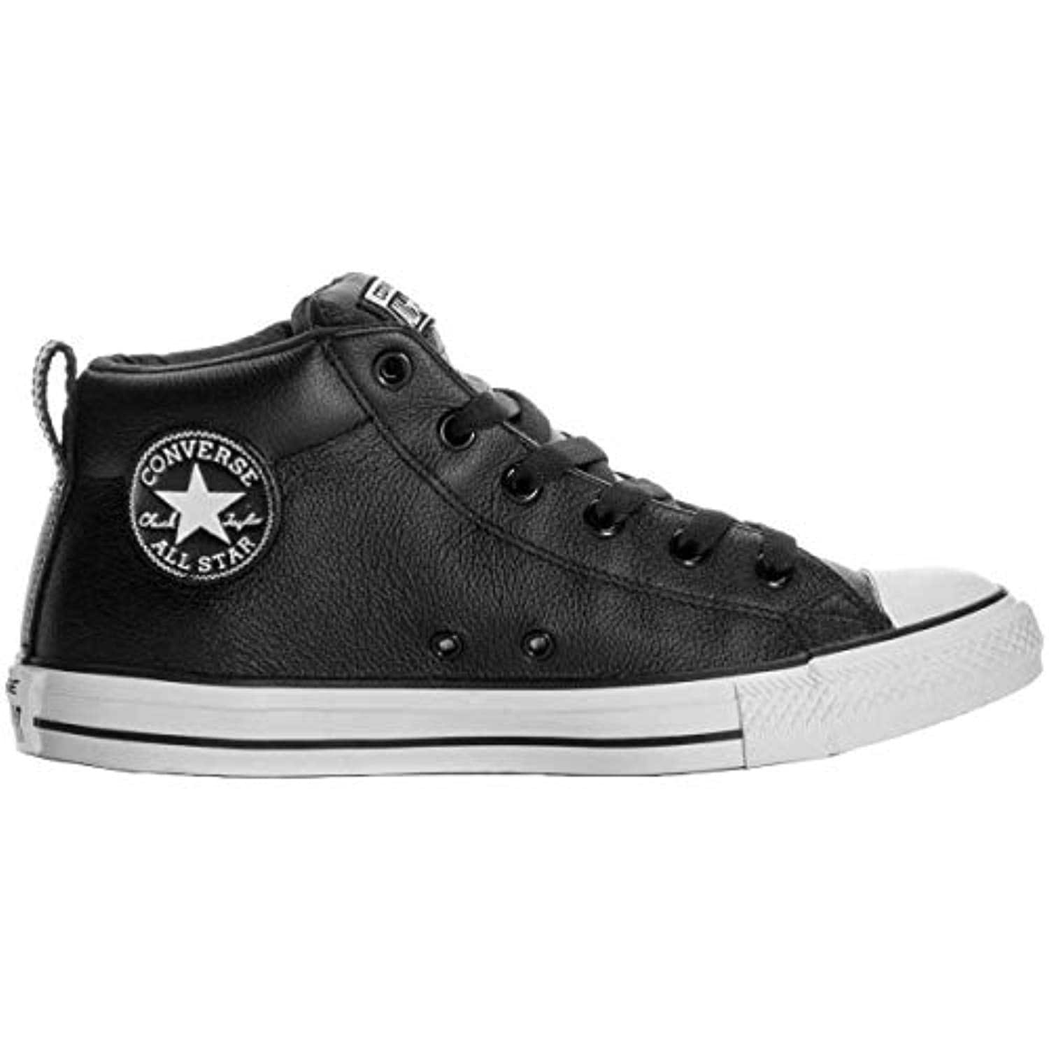 Star Street Mid Shoes Leather
