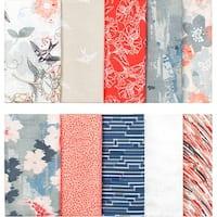 """Fabric Palette Precut Fat Quarter Bundle 18""""X21"""" 5/Pkg-Marabella Collection"""
