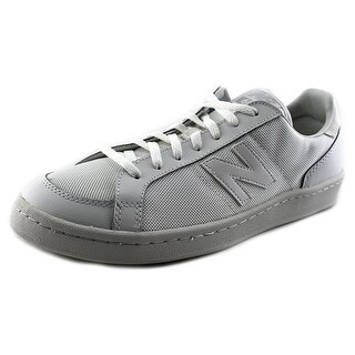 New Balance CT691 Men  Round Toe Leather White Sneakers